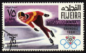 Postage stamp, Winter Olympic Games in Grenoble 1968 — Stock Photo