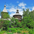 Постер, плакат: Ancient wooden church of Sergey Radonezhsky in Murom Russia