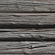 Stock Photo: Old log wall texture
