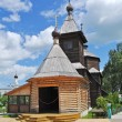 Wooden church of Sergey Radonezhsky in Murom, Russia - Stock Photo