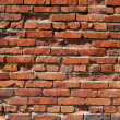Stock Photo: Old red brick wall background