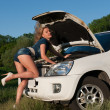 Hot mechanic — Stockfoto