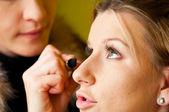 做化妆 — 图库照片