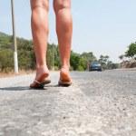 Female feet — Stock Photo #5596705
