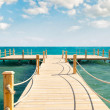 Wooden pier — Stock Photo #5971318