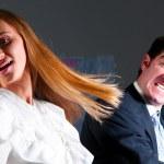 przemoc w urzędzie — Zdjęcie stockowe
