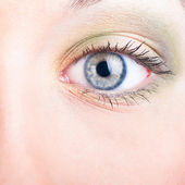 Female eye — Stock Photo