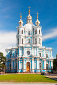 Smolny cathedral — Stock Photo