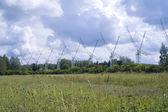 Radiotelescopio dkr-1000 in russia — Foto Stock