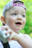 A baby boy — Stock Photo