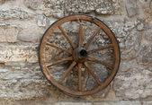 Old wheel — Stock Photo