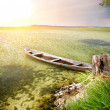 Boat at coast — Stock Photo #6435405