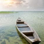 Boat at coast — Stock Photo