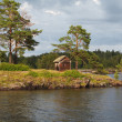 Island Valaam on Ladooga lake - Stock Photo