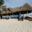 Stock Photo: Bar on caribbebeach