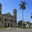A view of Cathedral in Cardenas, cuban landmark — Stock Photo