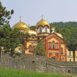New Aphon orthodox monastery — Stock Photo #6401369
