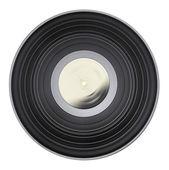 Old vinyl record isolated — Stock Photo