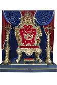 The royal throne — Stock Photo