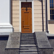 Stock Photo: The granite staircase from the entrance door