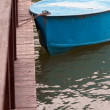 Boat at landing stage - Stock fotografie