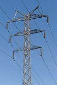 Strom-masten — Stockfoto