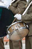 Band drummers — Stock Photo