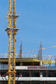 Construction site — Stockfoto