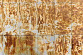 Rusty brown wall — Stock fotografie