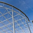 Steel construction — Stockfoto