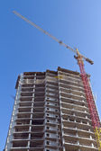 Construction of modern building — Stock Photo