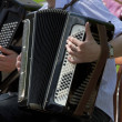 Stock Photo: Accordion player
