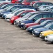Foto de Stock  : Parking lot