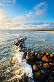 Stones in sea water — Stock Photo
