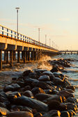 Pier in Palanga — Stock Photo