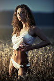 Young sexy woman — Stock Photo