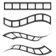 Film strips — Stock Vector