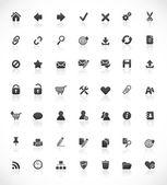Iconos web y oficina — Vector de stock