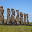 Easter Island Statues — Stock Photo
