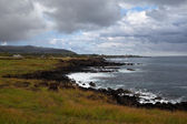 Easter Island coastline — Stock Photo