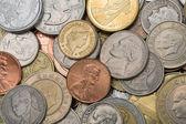 монеты, фон — Стоковое фото