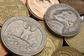 Old American coins — Stock Photo