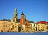 Wawel Castle, Krakow, Poland — Stock Photo