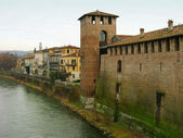 Castelvecchio (Old Castle), Verona, Italy — Stock Photo