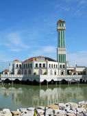 Floating Mosque on Penang island, Malaysia — Stock Photo