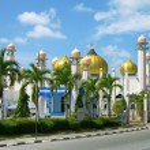 Al-Hana mosque , Langkawi, Malaysia — Stock Photo #5659573