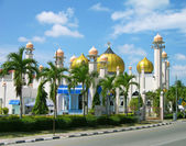 Al-Hana mosque , Langkawi, Malaysia — Stock Photo