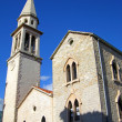 St. Ivan's Church, Budva, Montenegro — Stock Photo