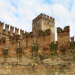 Castelvecchio (Old Castle) in Verona, Italy - Stock Photo