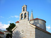 Church of Holy Trinity, Budva, Montenegro — Stock Photo